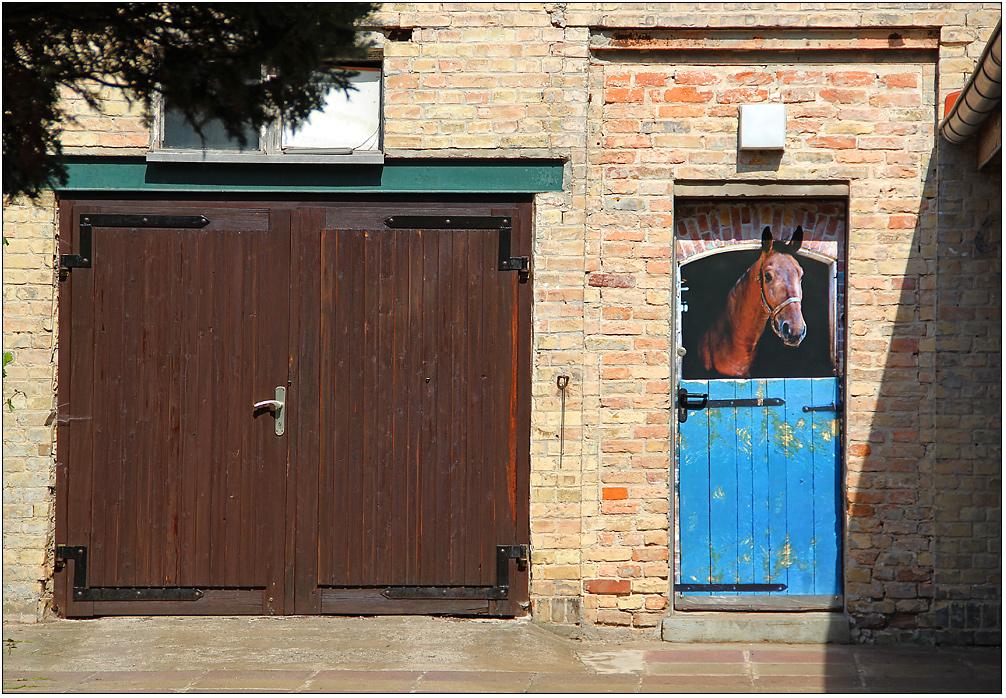 Und wer kein Pferd hat ...