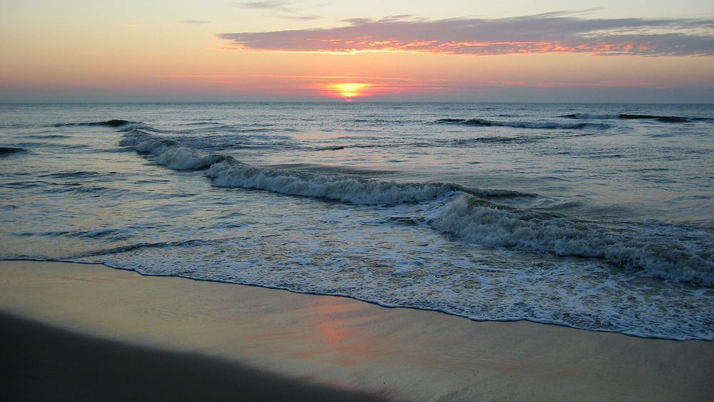 Und wieder ein Sonnenuntergang...