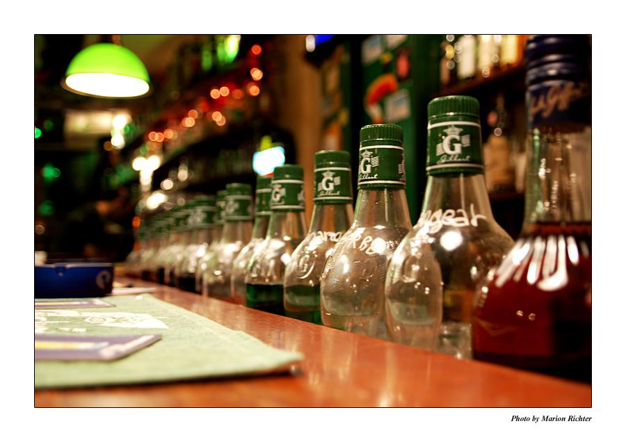 und wieder Flaschen...