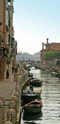 Und wieder mal in Venedig . . .