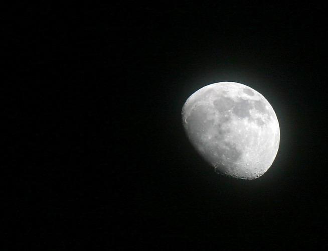 Und wiedermal grüßt der Mond...