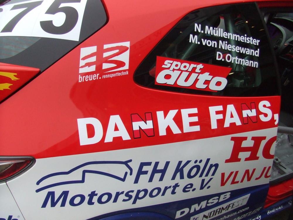 ...und wir danken den Teams für 10 mal tollen Motorsport