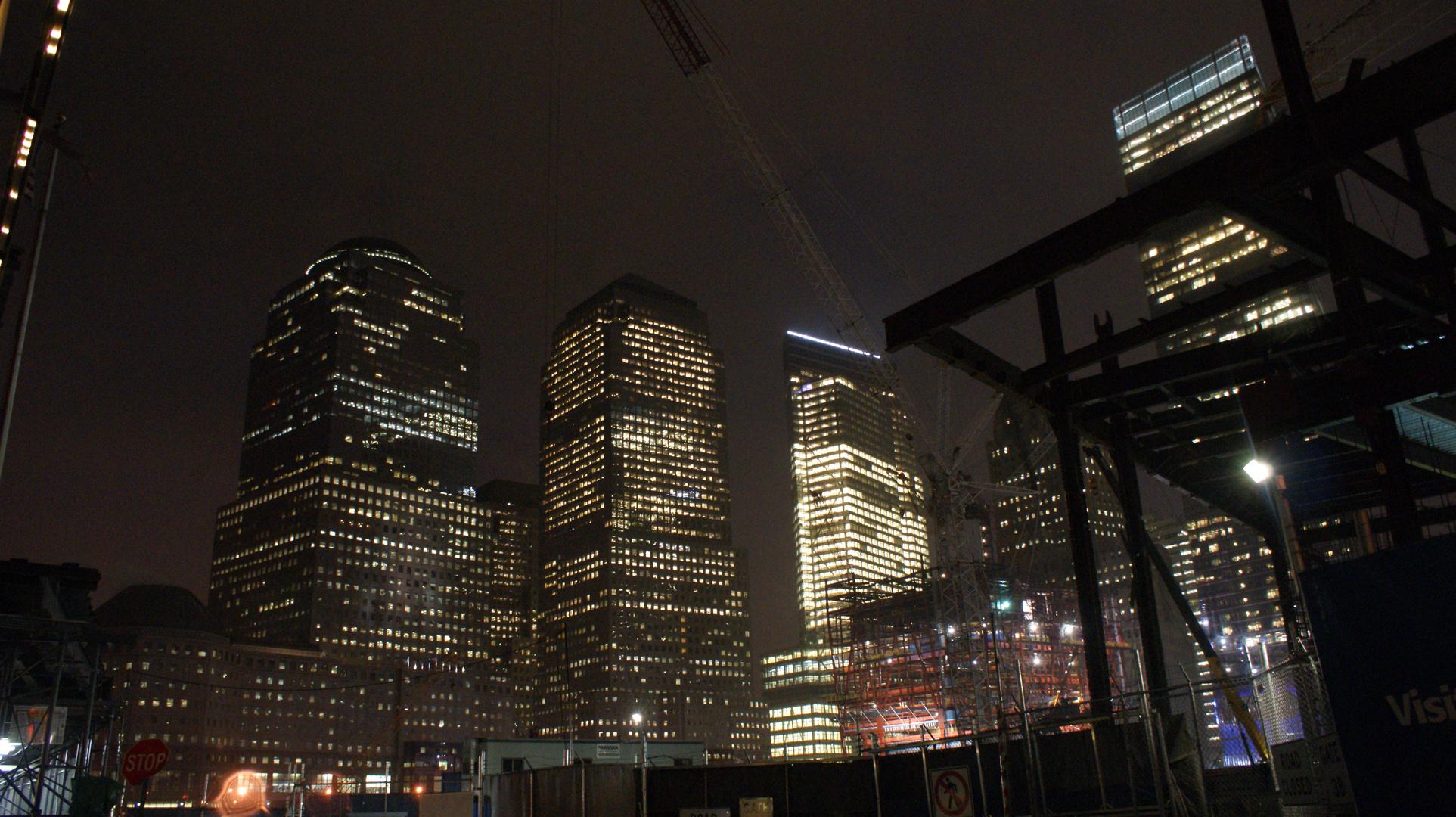 under construction - World Trade Center