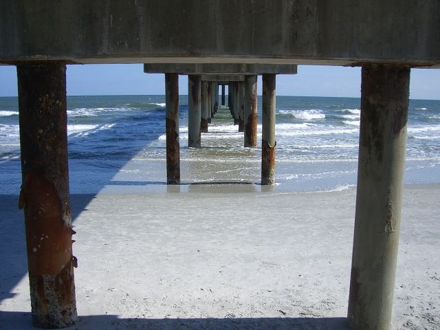 Under pier / St. Agustine Florida