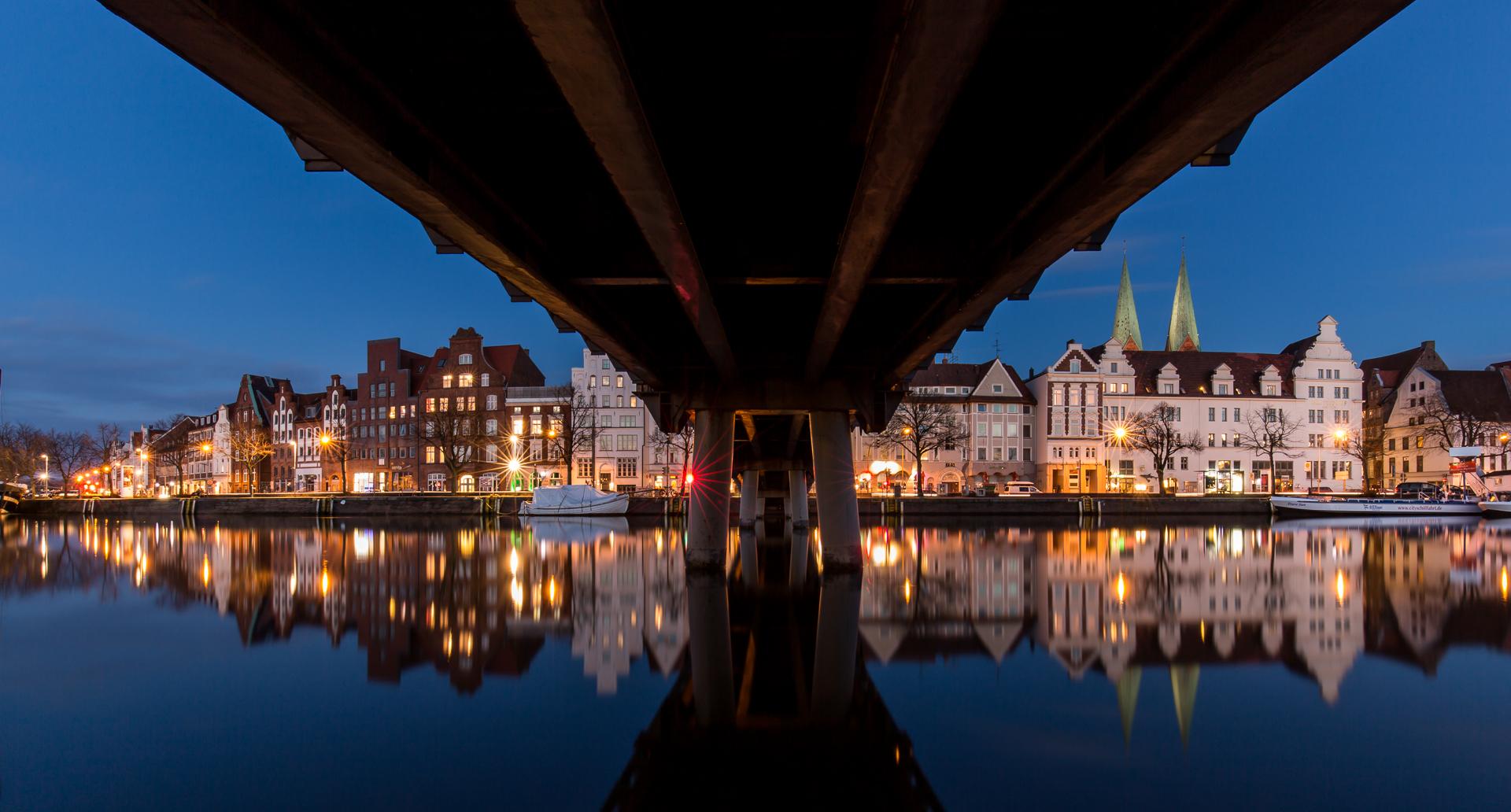 Under the bridge...