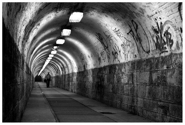 Under the railways