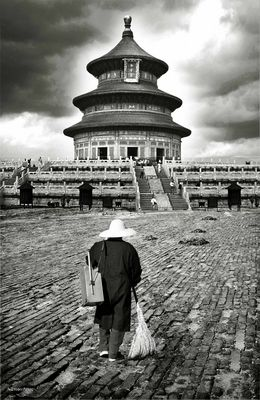 Under the Temple of Heaven....