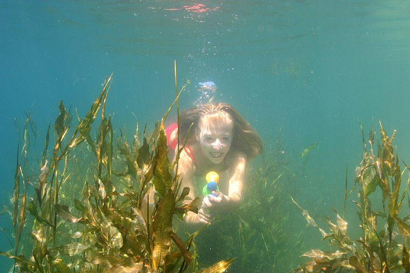 Under Water Shooting