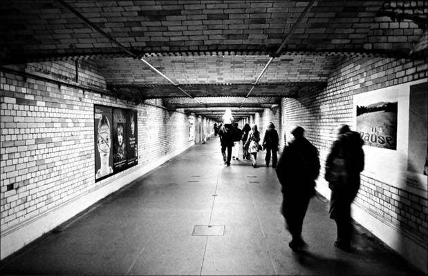 Underground walking