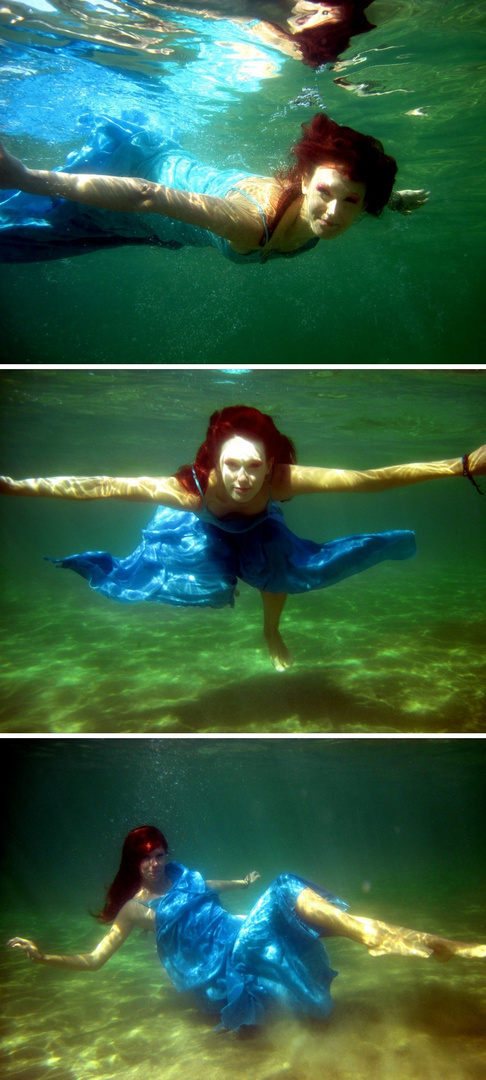 Underwater..