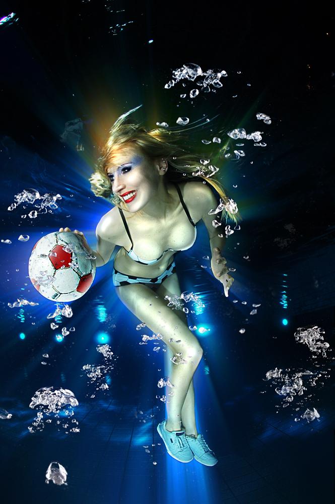 Underwater ..