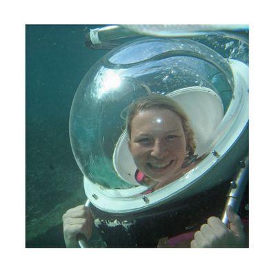 Underwaterwalk in Mauritus