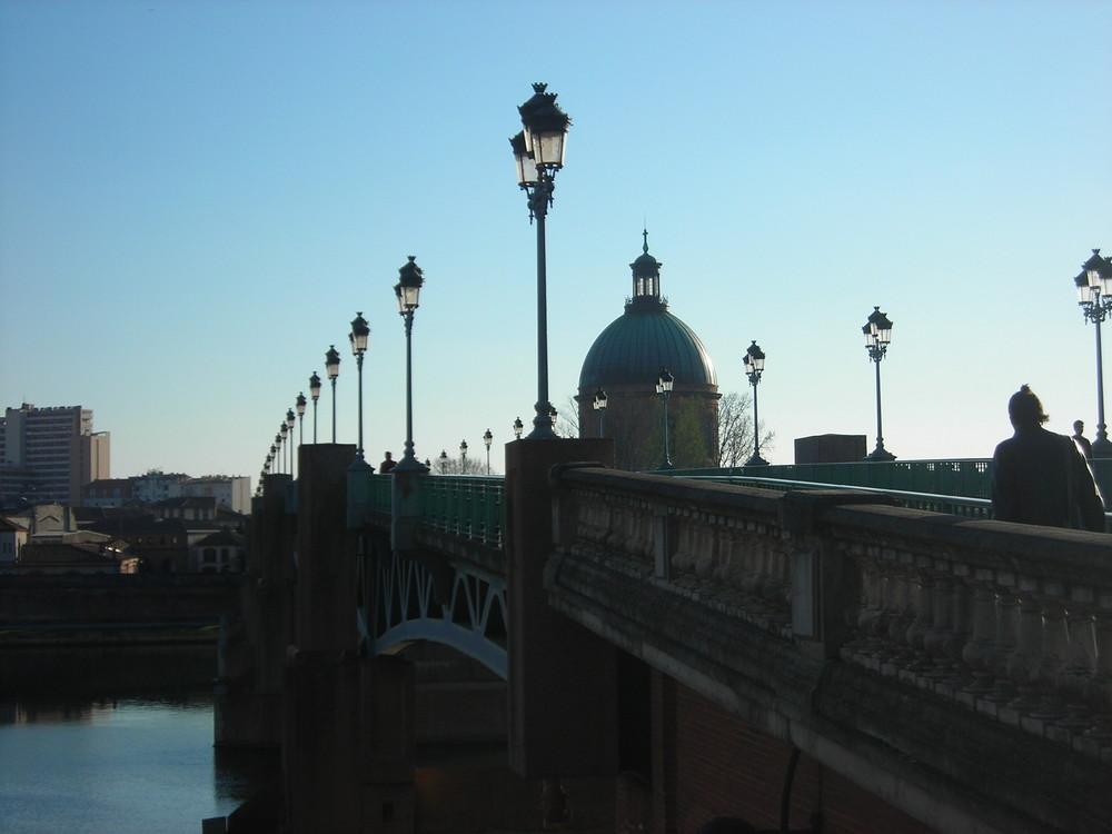 une après-midi sur un pont....