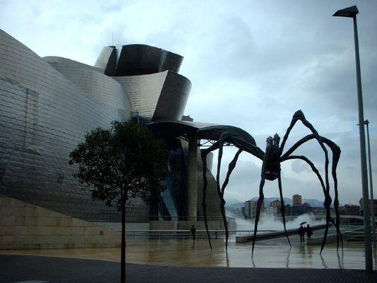 Une araignée dans la brume