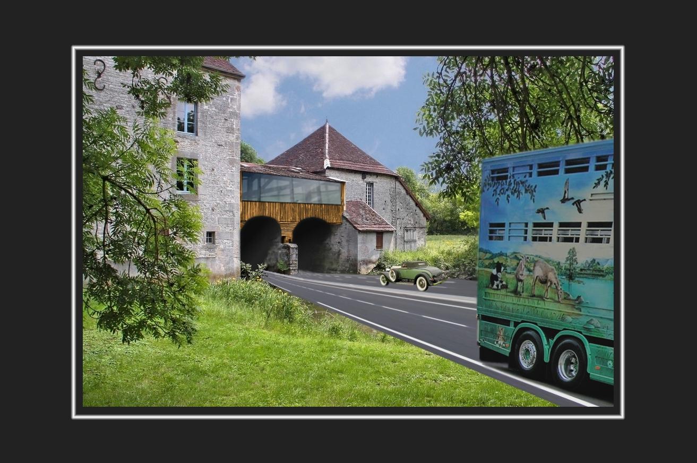 Une autre voie sous le vieux moulin ....