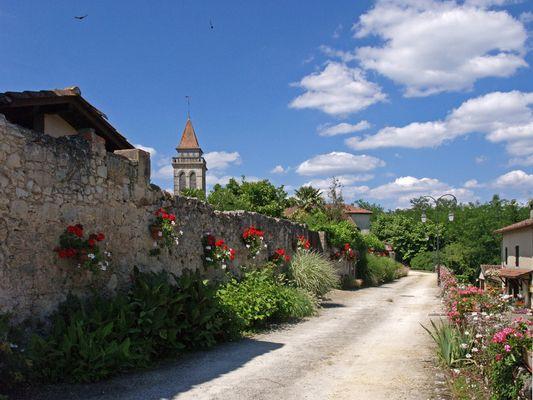 Une autre vue de Saint-Justin --  Landes  --  Eine andere Aussicht von Saint-Justin