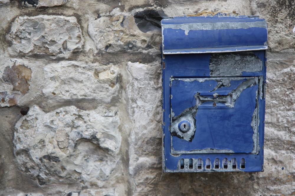 une boite aux lettres