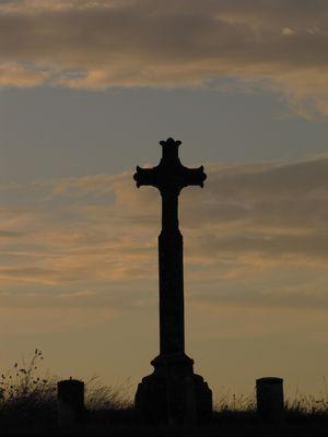 Une croix perdue