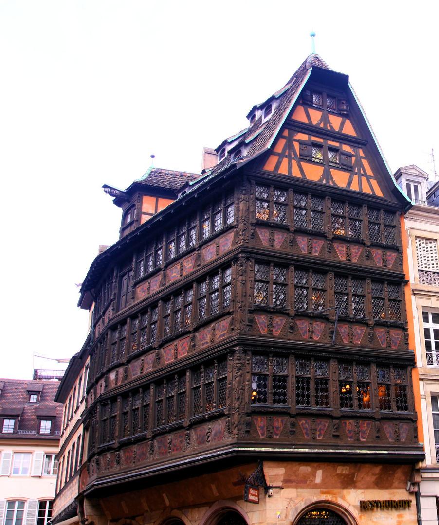une des plus belle façade........
