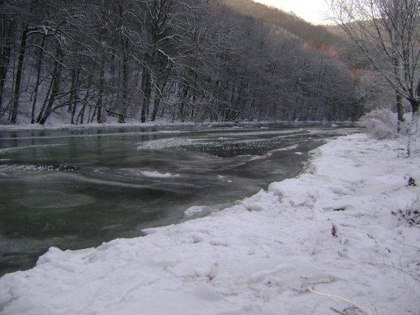 Une eau bien froide
