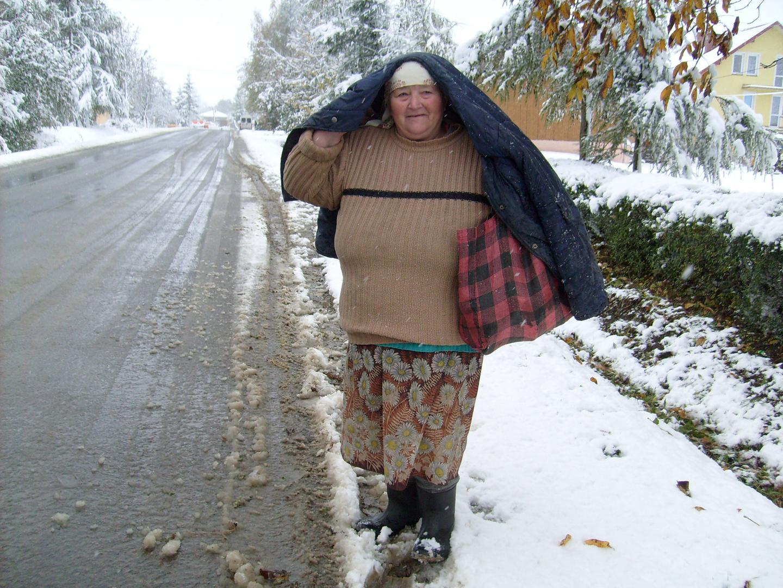 une femme dans la Pologne profonde