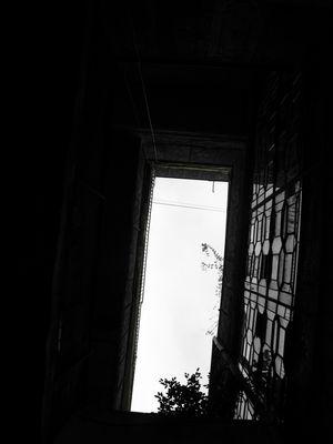 Une fenêtre.Un espoir.