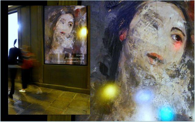 Une galerie d'art qui affiche sur rue...