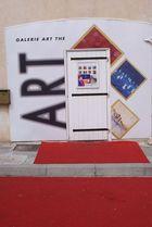 Une galerie de peinture dans le vieil Antibes