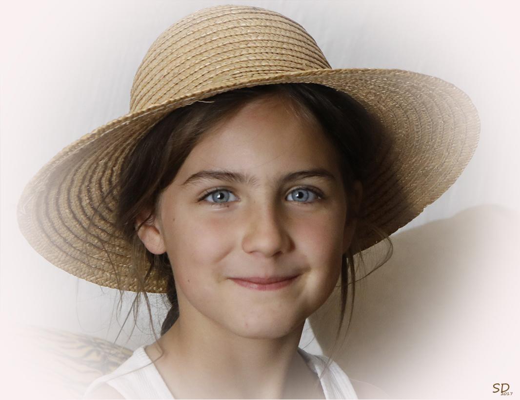 Une jolie petite paysanne