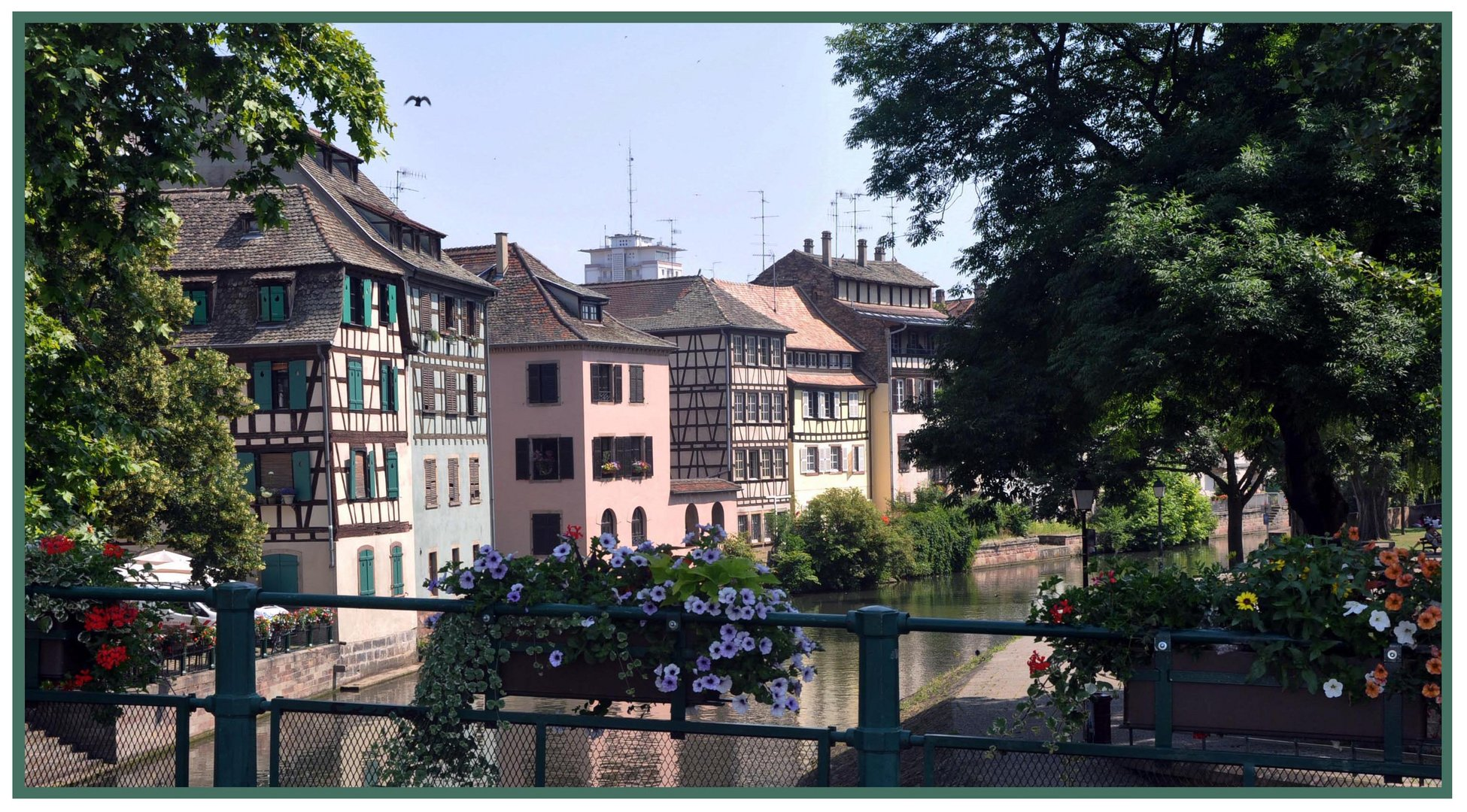 Une journée à Strasbourg.