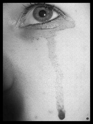 Une larme éphémère...