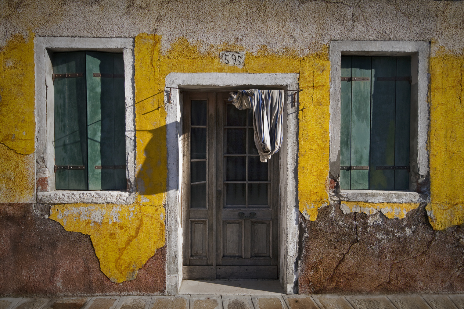 Une maison à Burano....