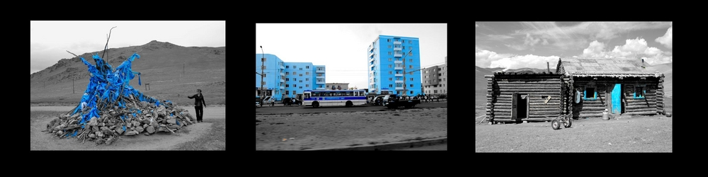Une Mongolie toute bleue