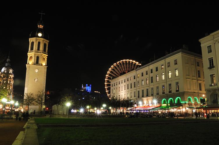 Une nuit à Lyon