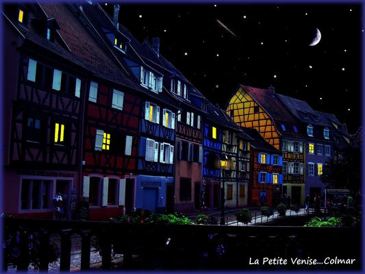 Une nuit sur Colmar