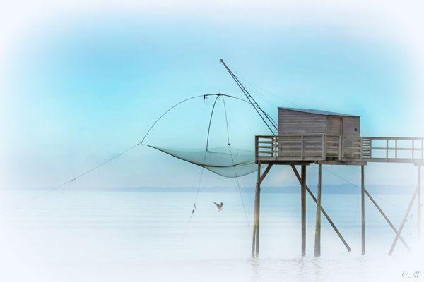 Une pêcherie en Loire Atlantique