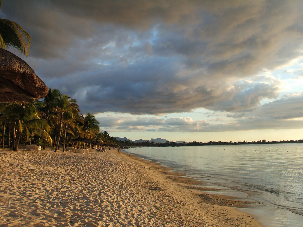 Une plage mauritienne