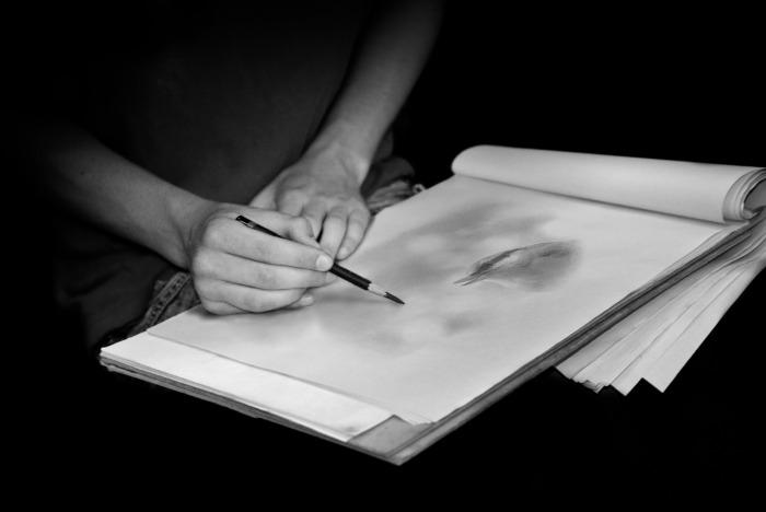 Une réalité, une photo...& un dessin...