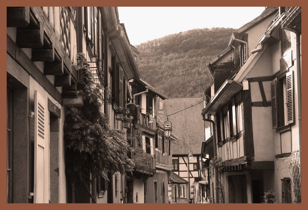 Une rue à Kaisersberg