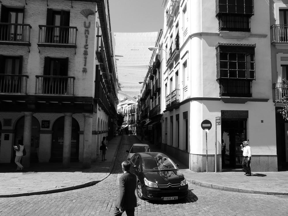 Une rue à Séville - Voyage en Andalousie juin 2008