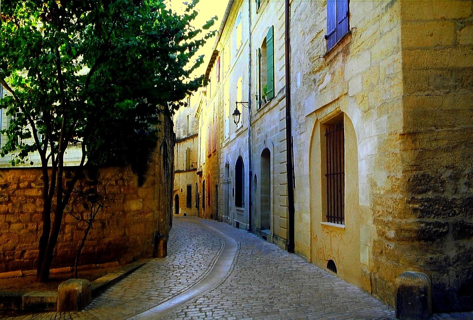 Une rue d'Uzès