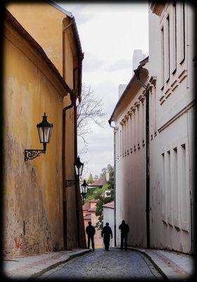 Une ruelle au hasard, Prague