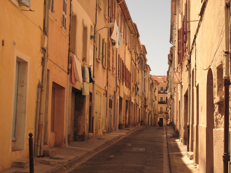 une ruelle de La Ciotat