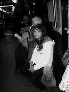 Une scène de vie dans le métro...