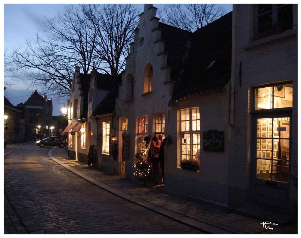 une soirée à Bruges