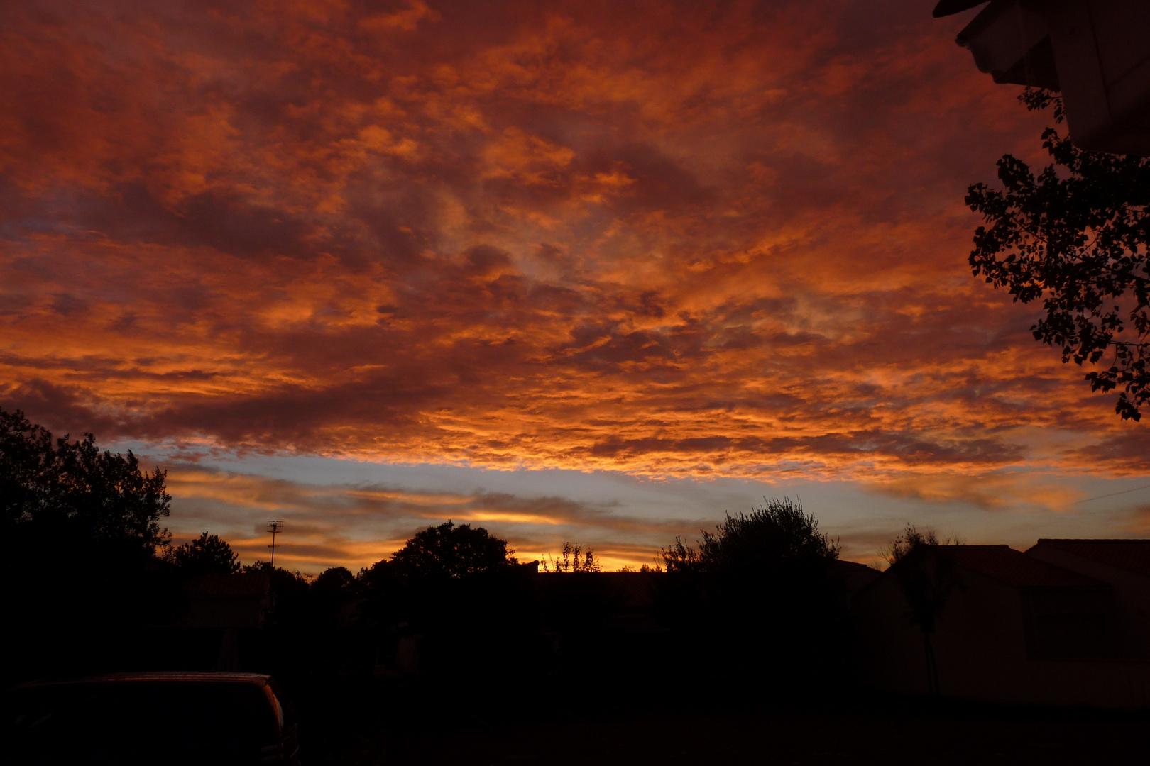 une soirée d'octobre en Vendée