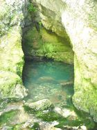 une source dans le Doubs