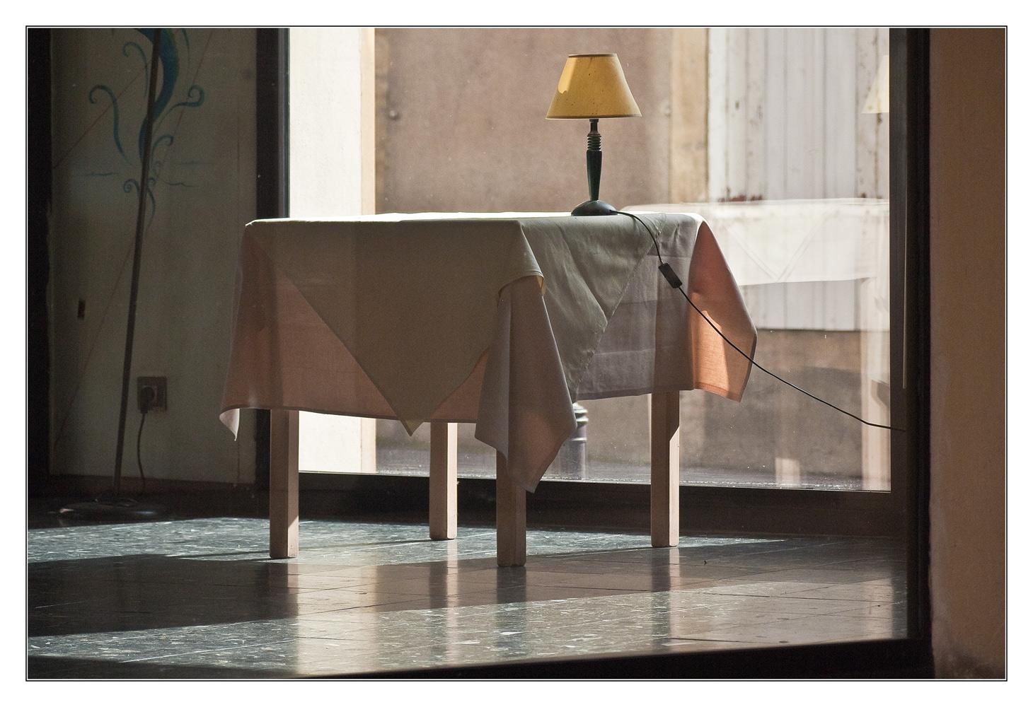 une table à Metz