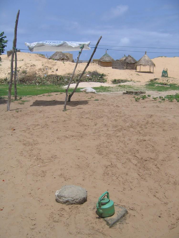 une tasse de sable