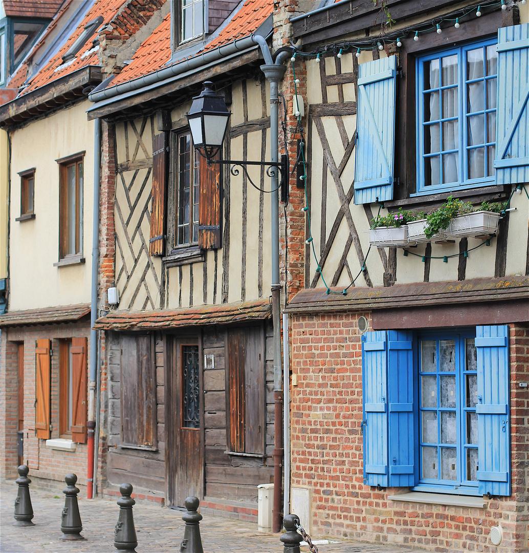 Une très vieille maison au quartier Saint Leu à Amiens